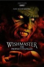 Watch Wishmaster 4: The Prophecy Fulfilled Online 123movieshub